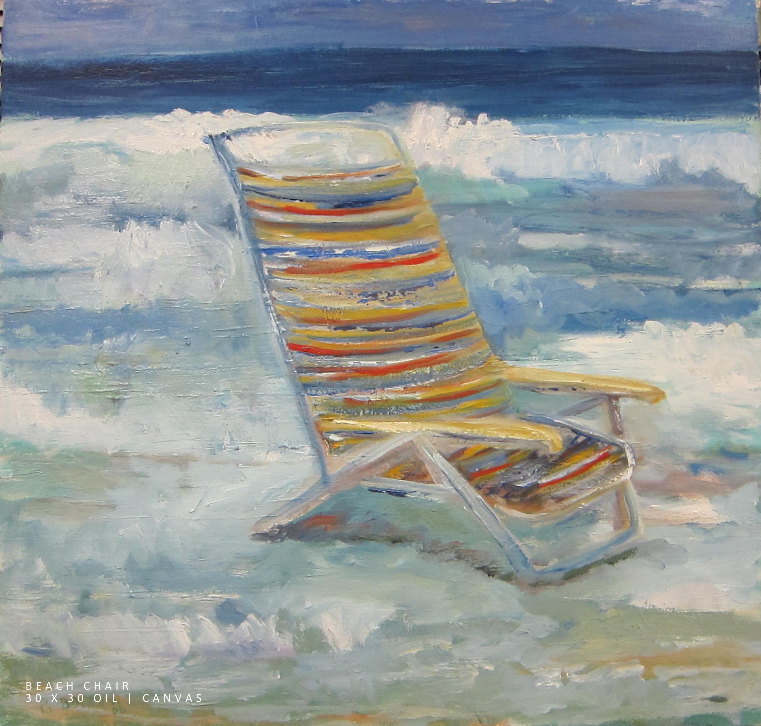 Beach Chair 30x30 Oil-Canvas NEW.jpg