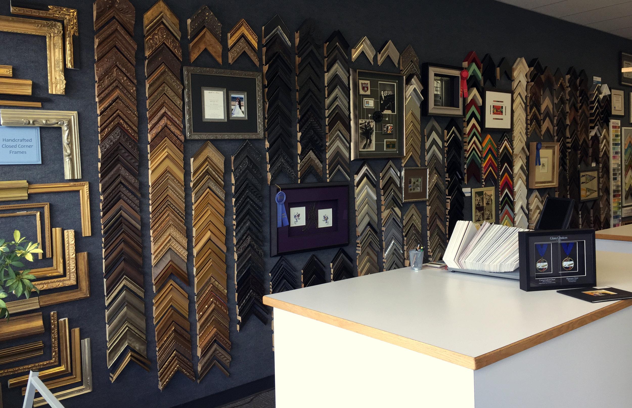 Lois Guinn Framing design table