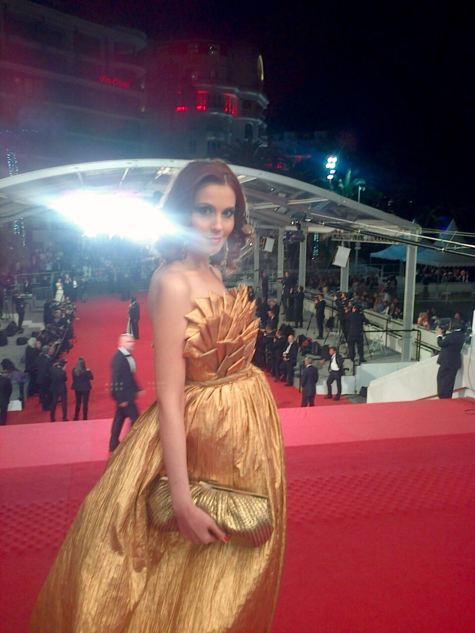 Cannes Film Festival Red Carpet Snapshot