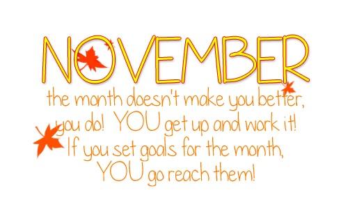 November...