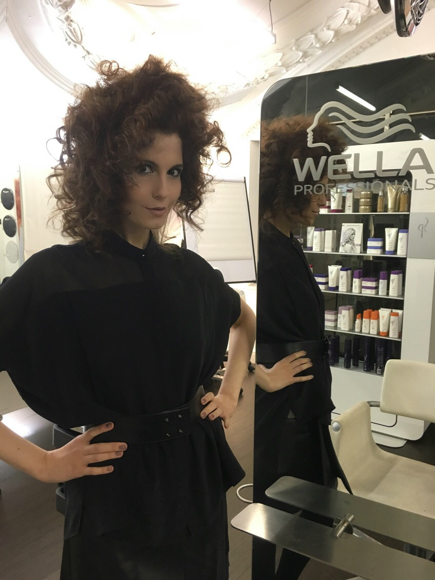 Wella Hair Job November 2015 - Behind The Scenes