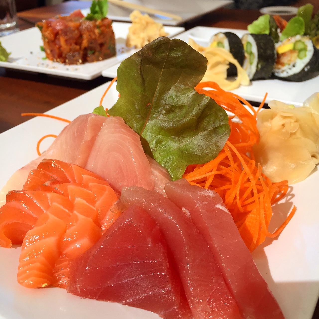 Sushi at Nikki Beach, St. Barth's