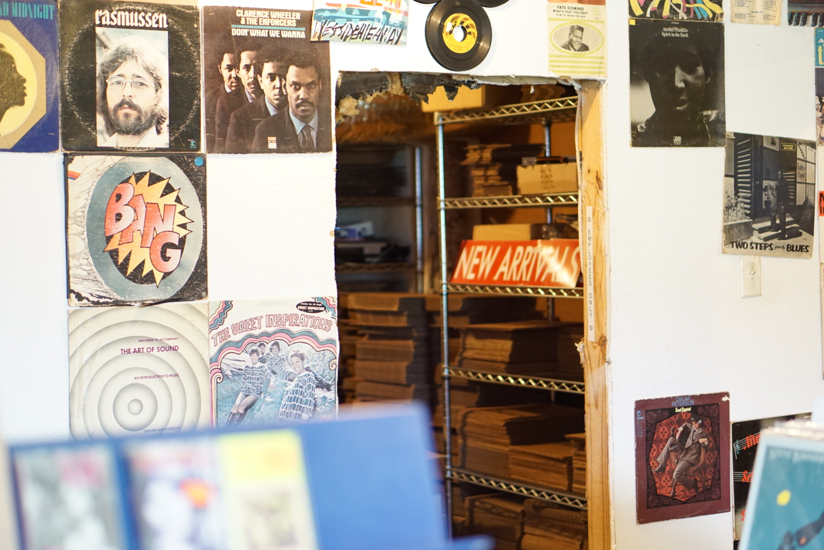 Inside the awesome Friends Of Sound Vinyl Shop