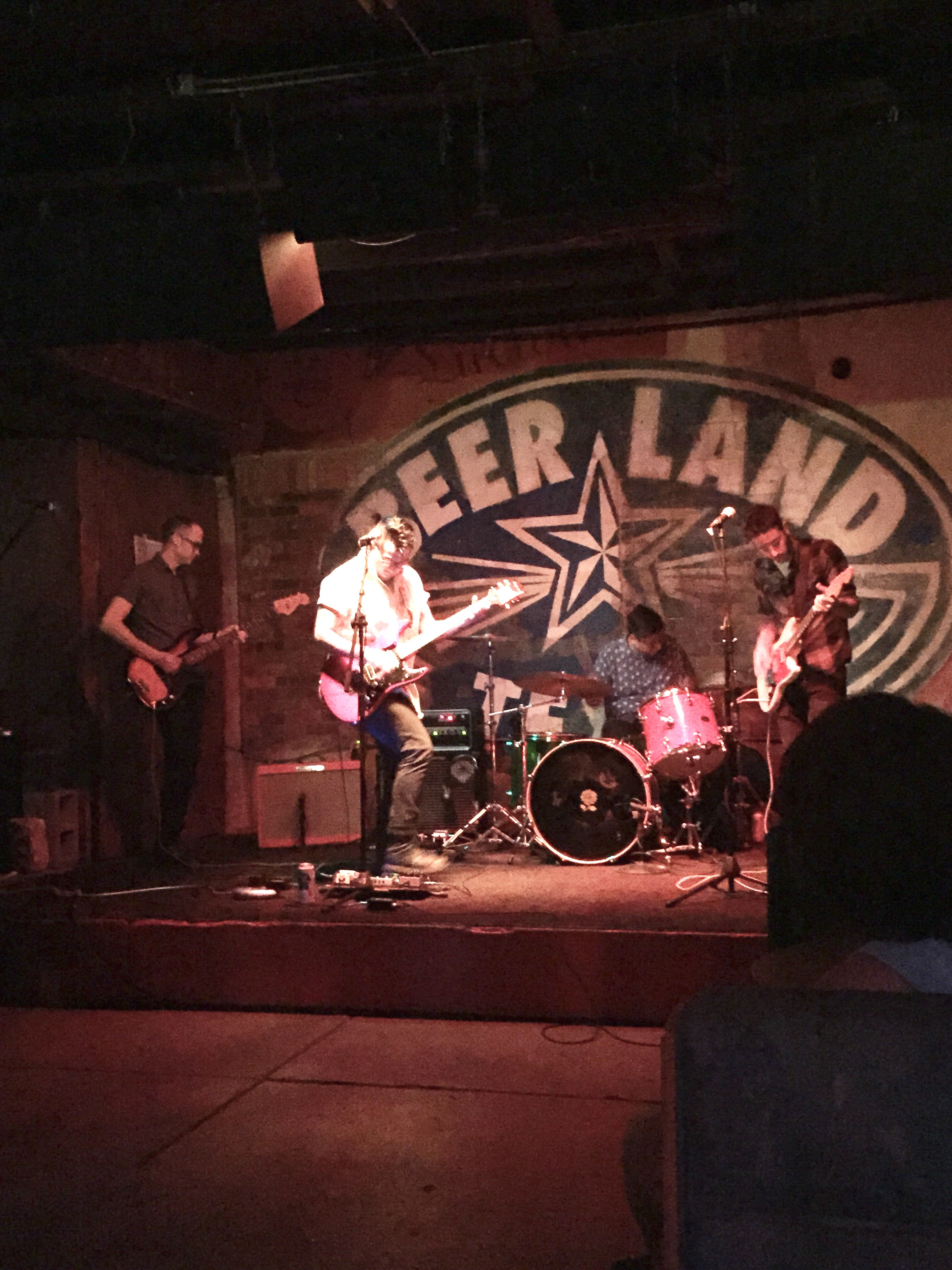 Surfer-rock band at Beer Land
