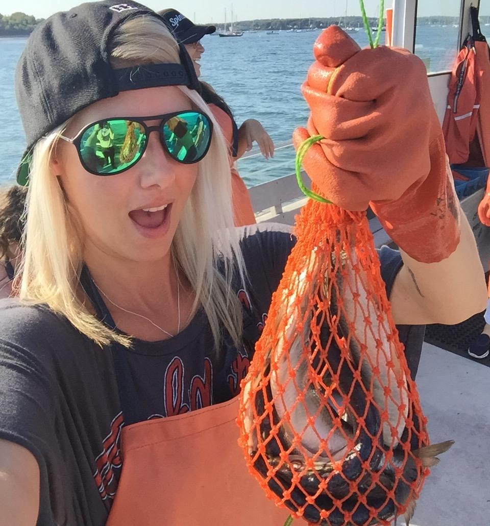 A big ole bag of herring bait
