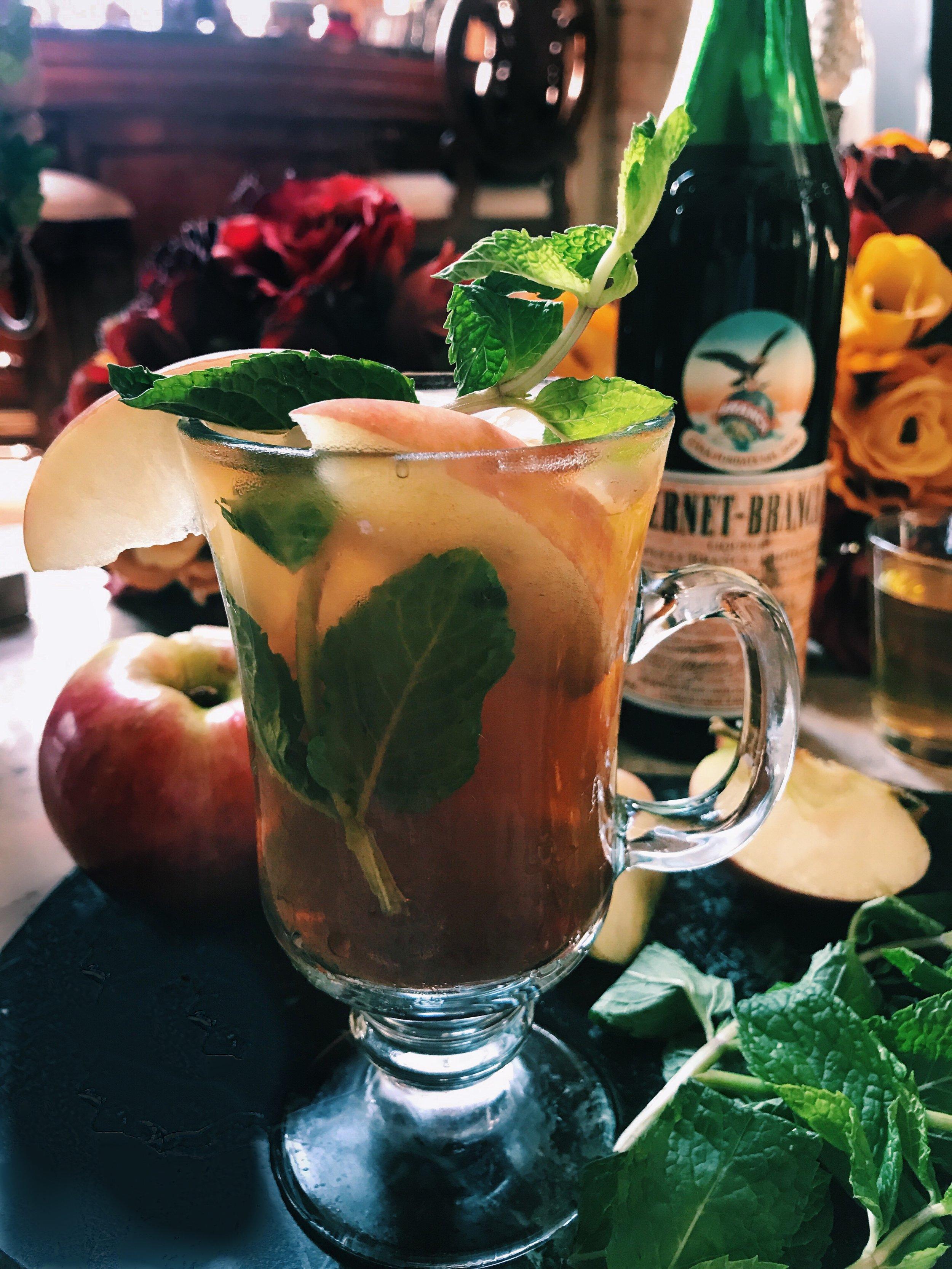 Fernet Cocktails- Fall Cider