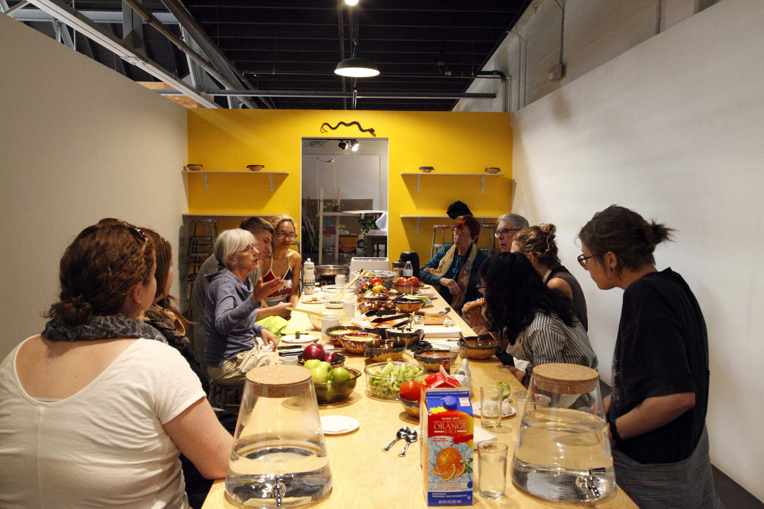 Studio Brunch , 2015, meal-performance-discussion