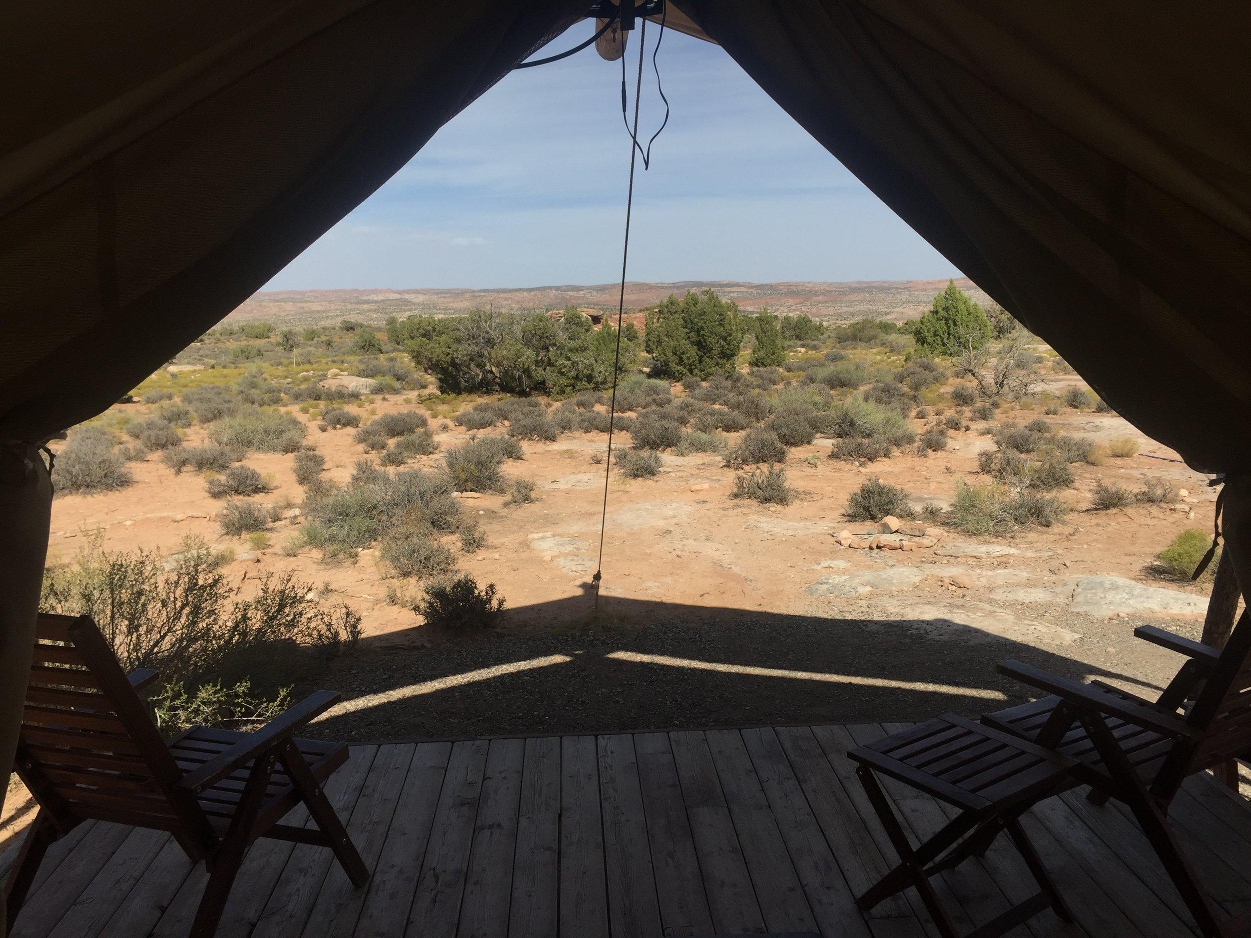 MoabUnderCanvas Room View.JPG