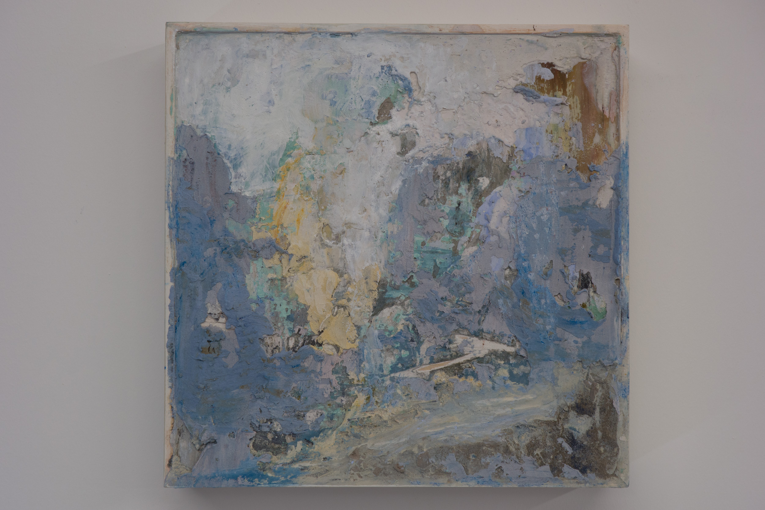 Shelley Vanderbyl - Abstract From Ashes 1 - 2016 - Fresco on Panel - 8x8.jpg