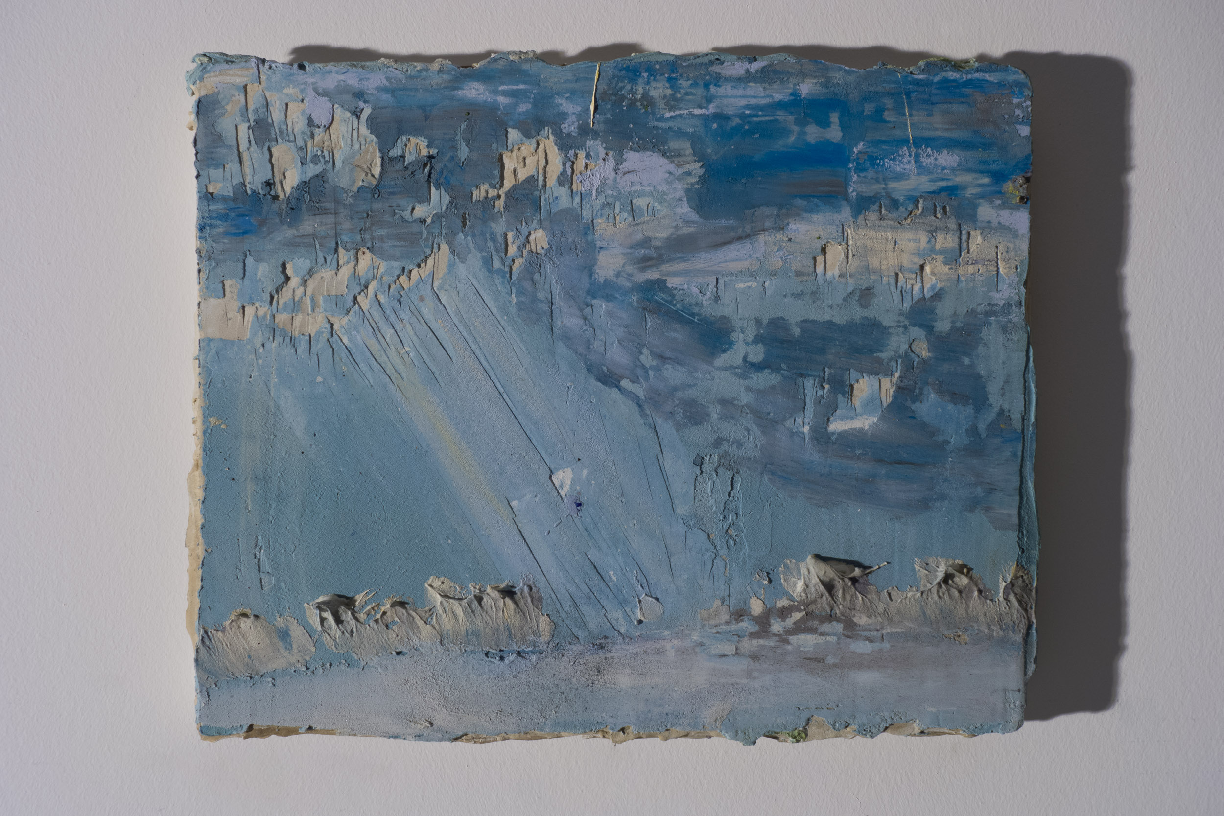 Shelley Vanderbyl - Crepuscular Rays (Side Light) - 2016 - Fresco on Panel - 8x10.jpg