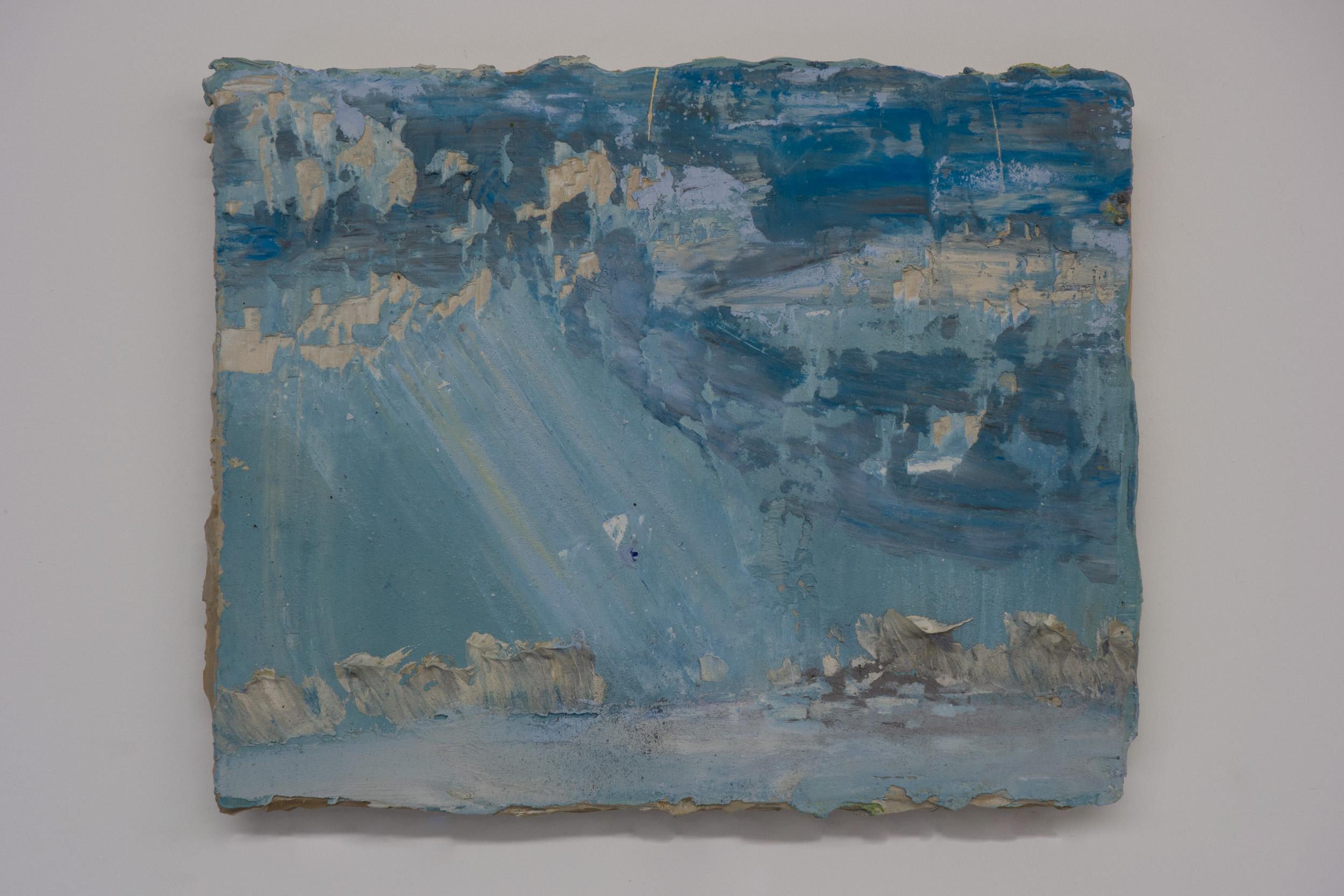 Shelley Vanderbyl - Crepuscular Rays - 2016 - Fresco on Panel - 8x10.jpg