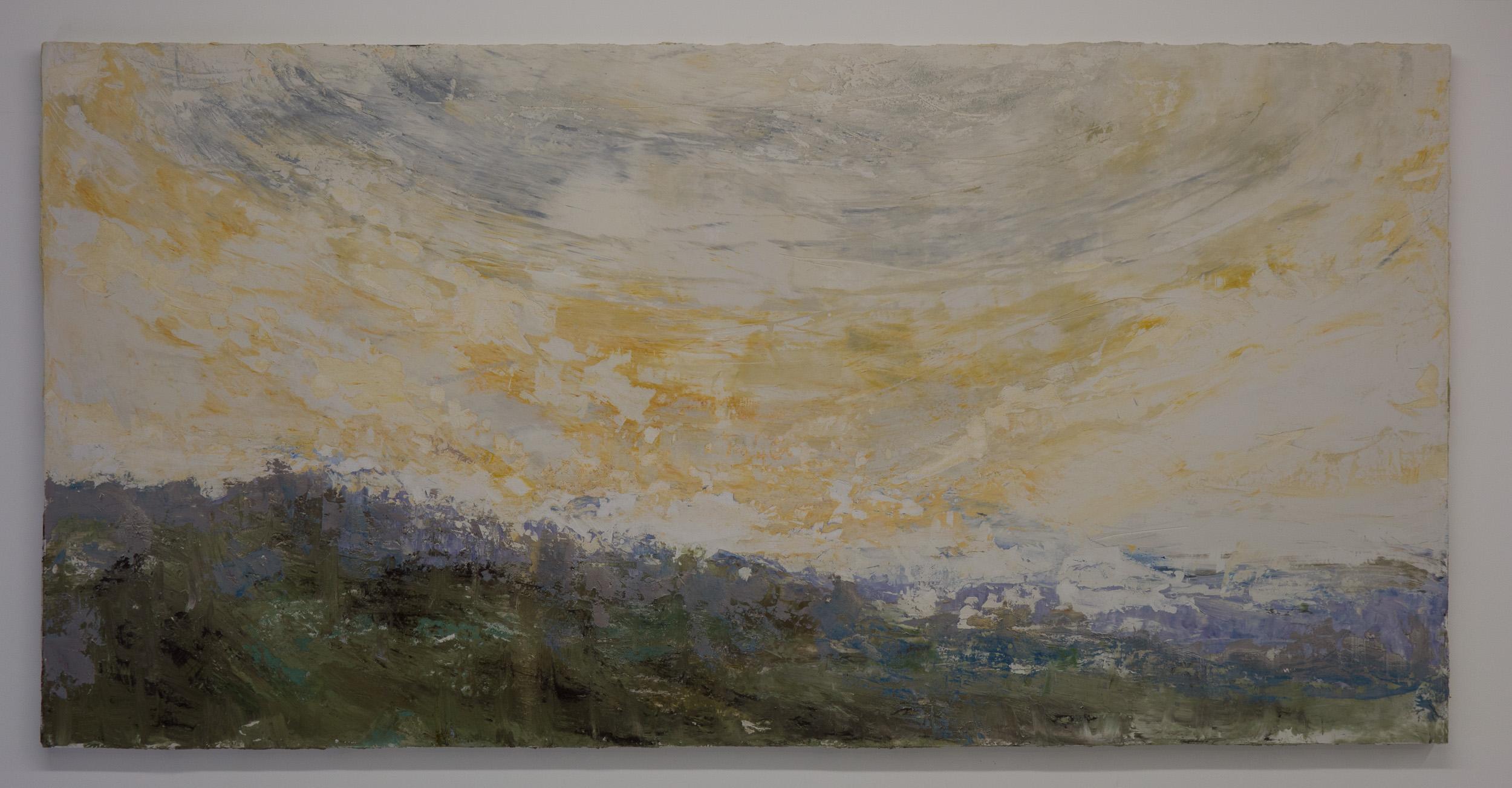 Shelley Vanderbyl - Facing a Wider Dawn - 2016 - Fresco on Panel - 48x96.jpg