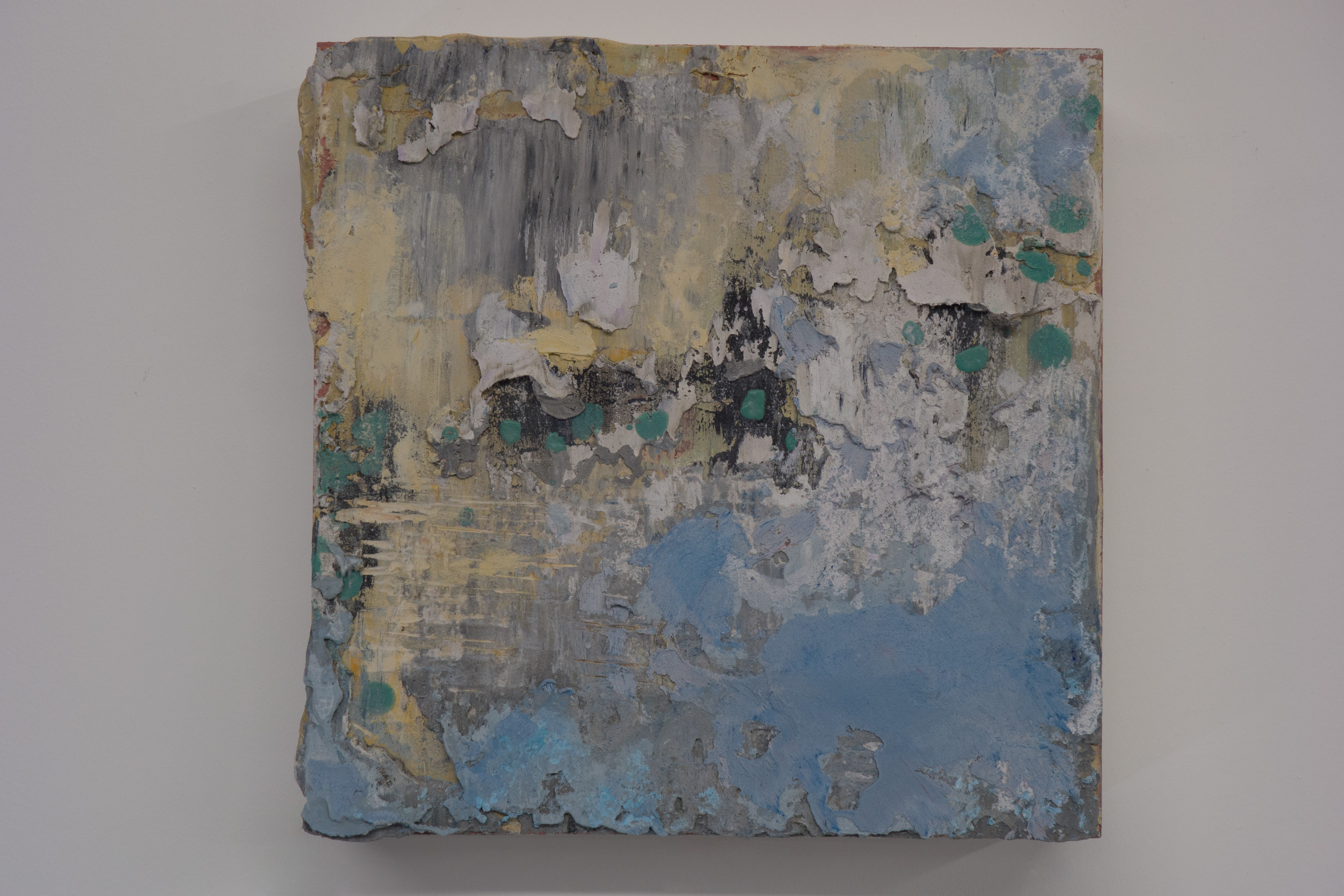 Shelley Vanderbyl - Abstract From Ashes 2 - 2016 - Fresco on Panel - 8x8.jpg