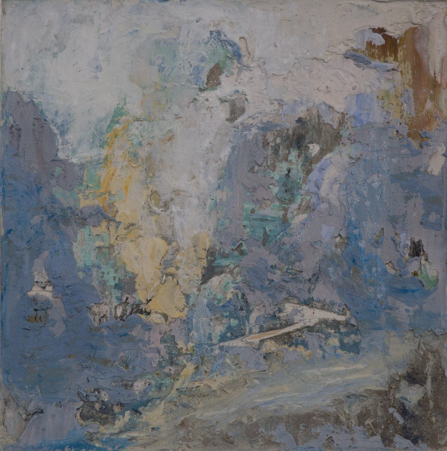 Shelley Vanderbyl - Abstract From Ashes 1 (Full Crop) - 2016 - Fresco on Panel - 8x8.jpg