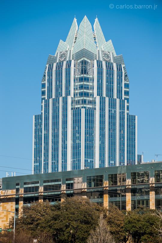 Frost Bank Tower, Austin Kite Festival 2012 | ©cbarronjr