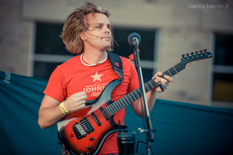 Johnny of The Staylyns at Clusterfest 2012 | © Carlos Barron Jr