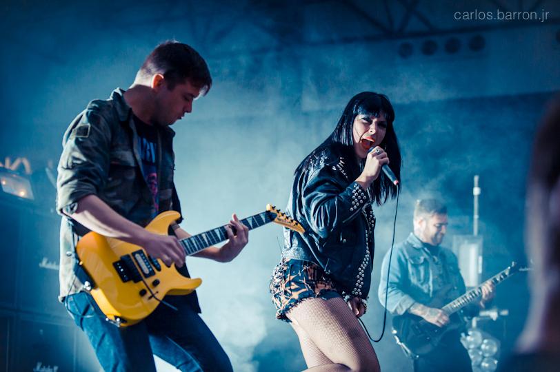 Sleigh Bells at Clusterfest 2012 | © Carlos Barron Jr