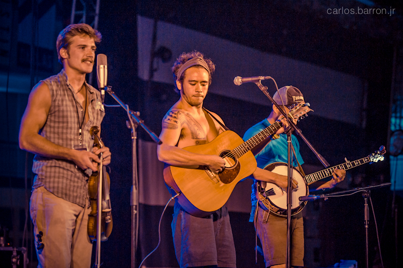 Whiskey Shivers at Clusterfest 2012 | © Carlos Barron Jr
