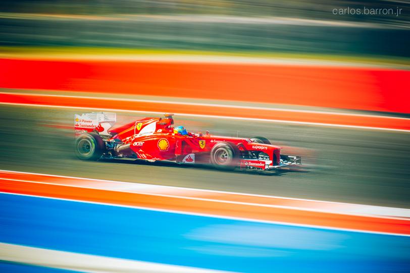 Fernando Alonso, Team Ferrari | © Carlos Barron Jr