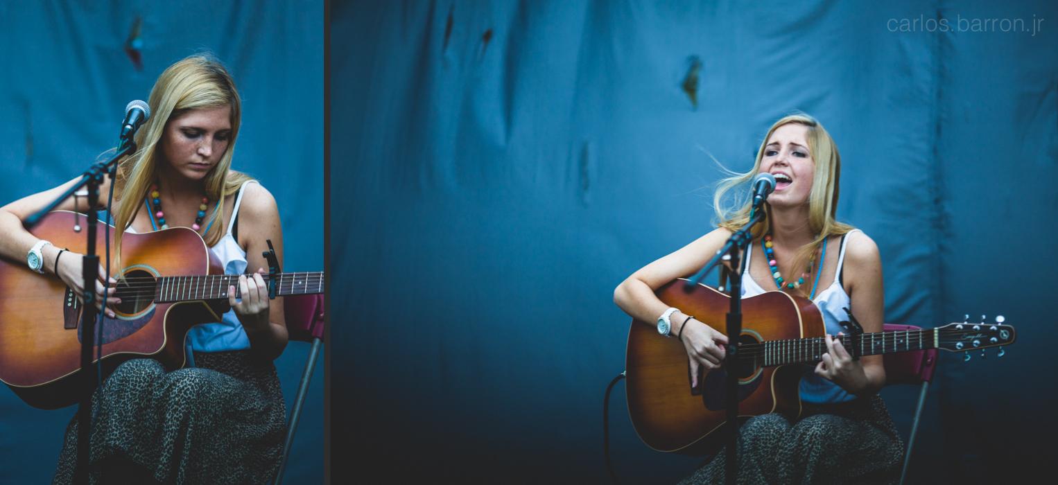 Sarah Cook at Clusterfest   © Carlos Barron Jr