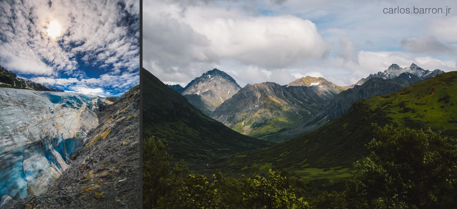 Exit Glacier - Hatchers Pass   © Carlos Barron Jr