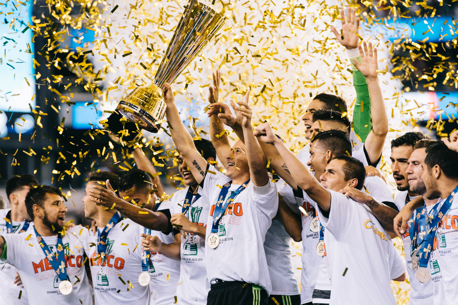 Mexico wins the 2015 Gold Cup.