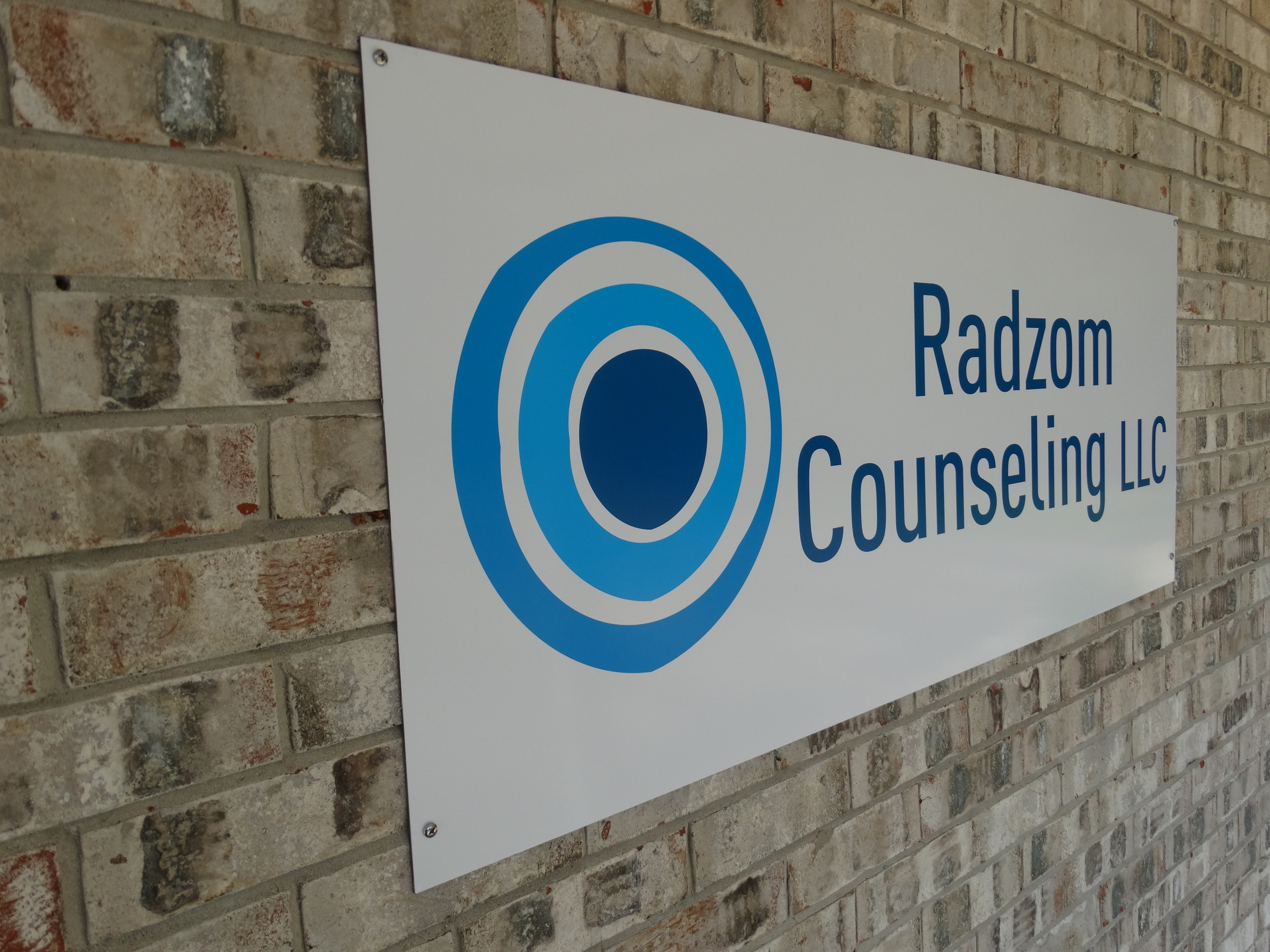 Radzom Counseling Maryville 62062 IL Exterior Sign 1