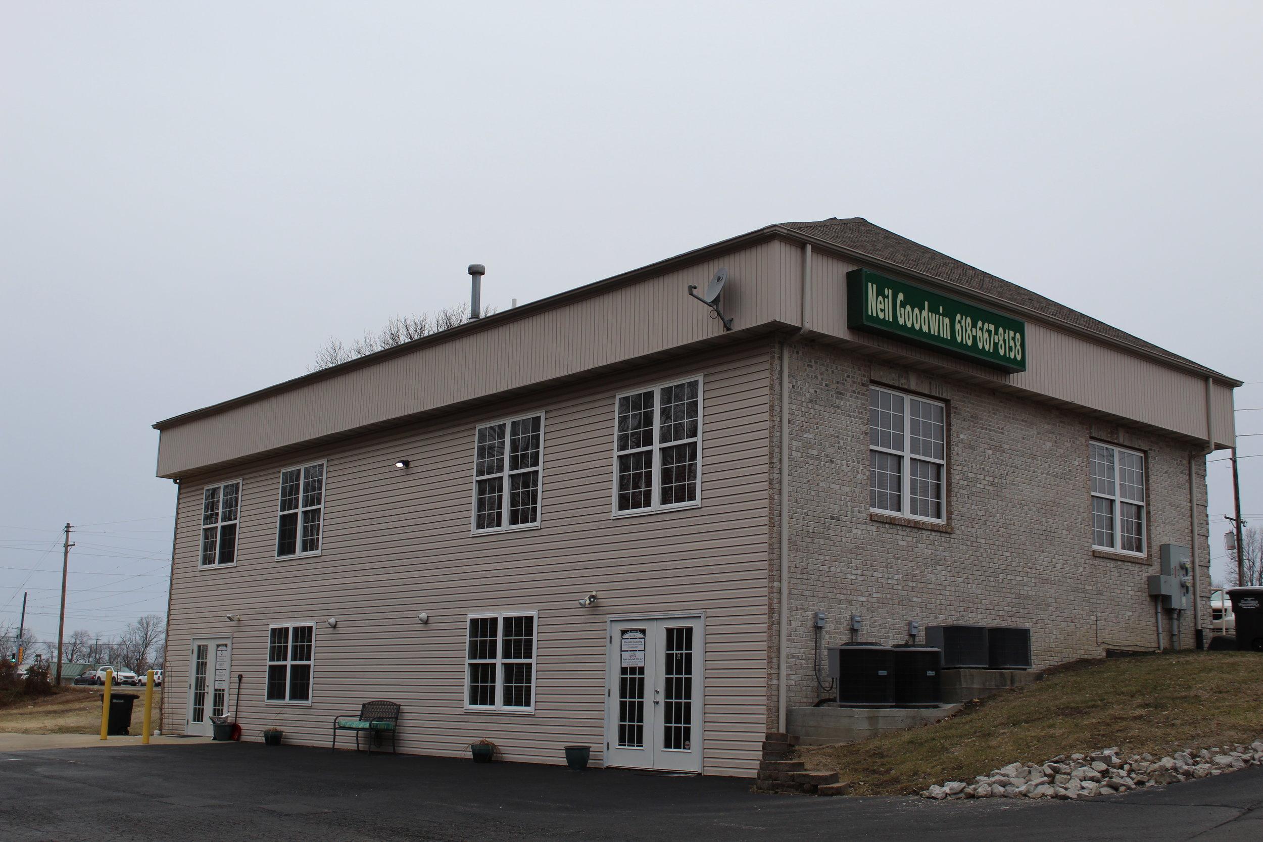 Rear of Troy Office