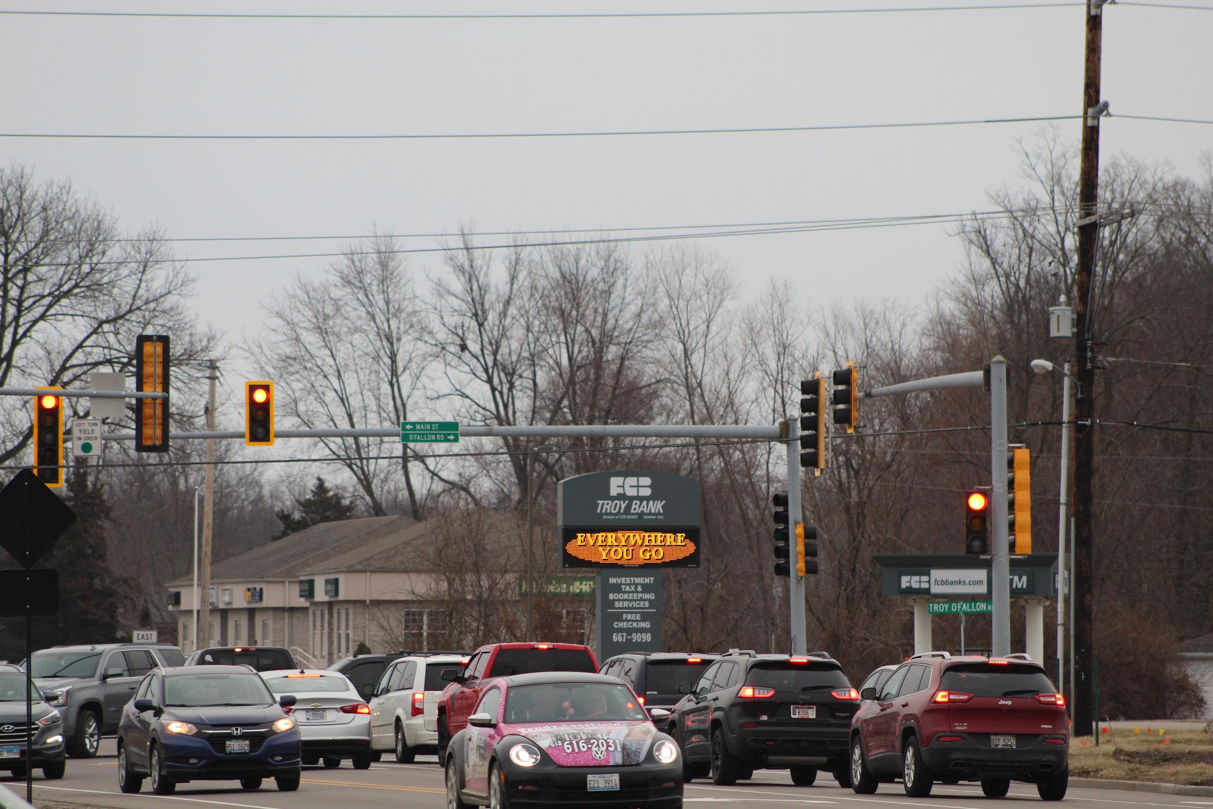 Intersection Near Troy Office