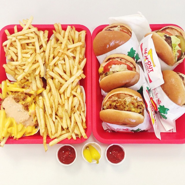 In-N-out always delicious. We stopped here for lunch!