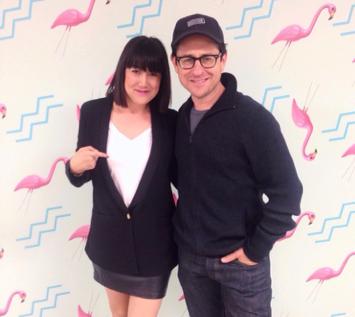 Of course no show is complete without a visit from our loyal customer J.J. Abrams!!