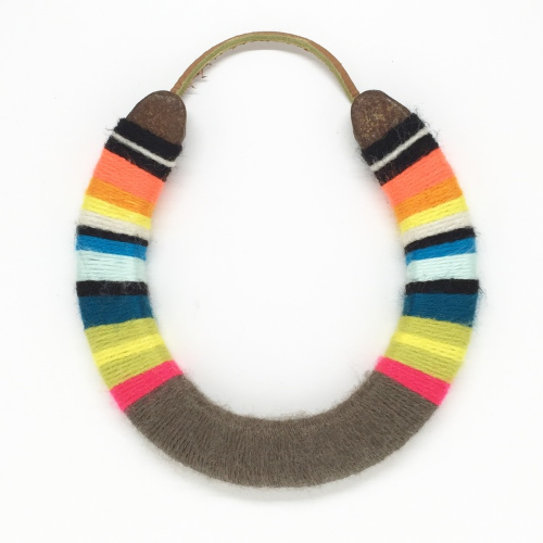 The original yarn wrapped lucky horseshoe from marley&alfie