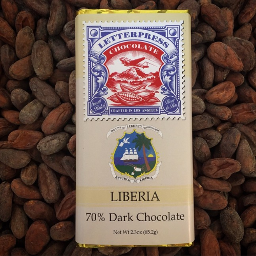 LetterPress Chocolate handcrafted small batch bean to bar chocolate
