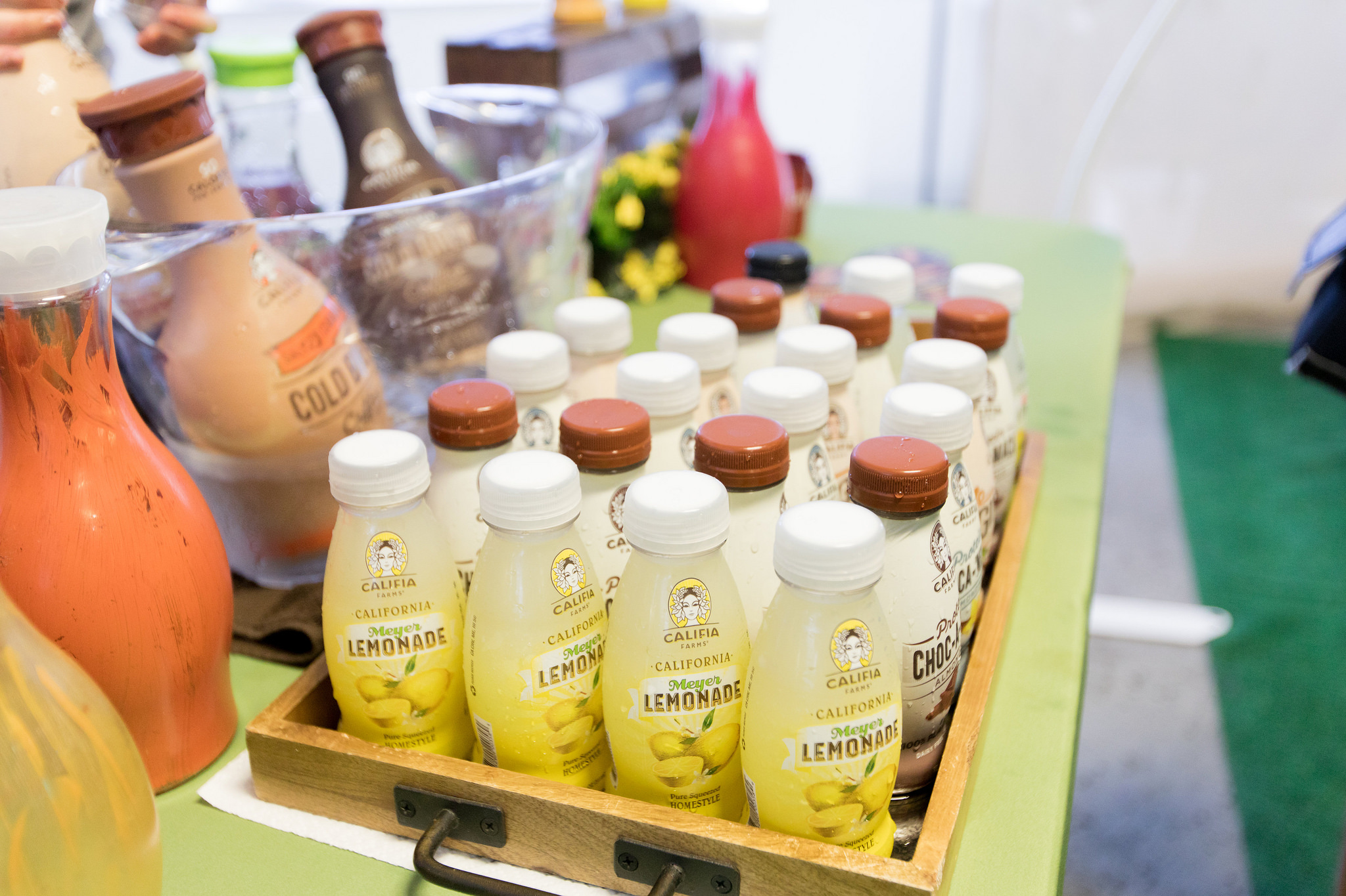 COFFEE + JUICES FROM CALIFIA FARMS