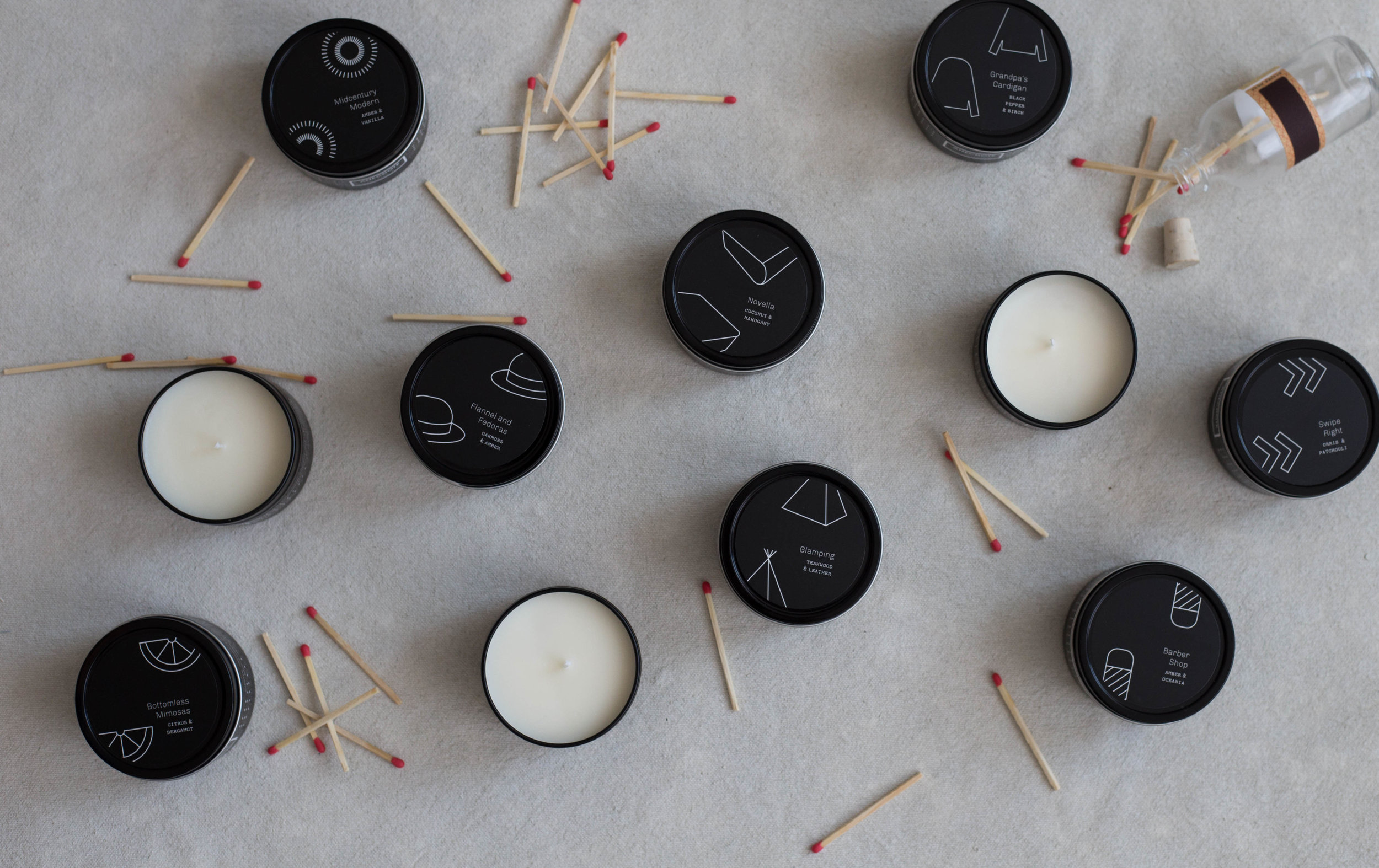 Anecdote Candles