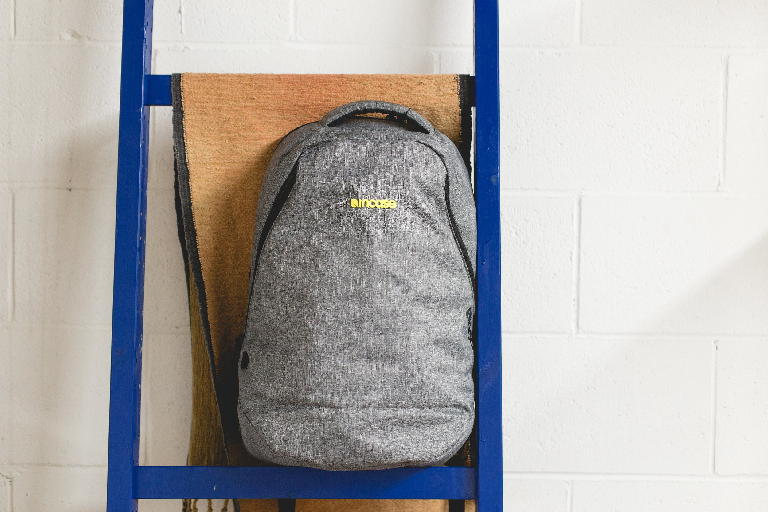Back to School Contest - This sleek backpack from Incase has a padded laptop sleeve and plenty of room for all your books... Enter to win 1 of 8 backpacks! ($150 value!)