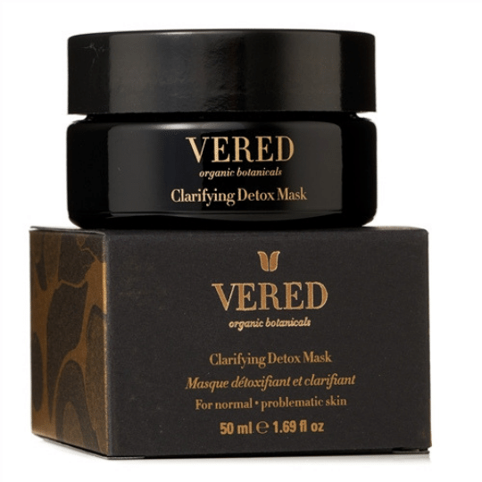 Clarifying Detox Mask ($58) - Vered Botanicals is an organic skin and bodycare line created by Vered, a master herbalist, esthetician, and artisanal perfumer. All products are hand produced, manufactured, and formulated in-house, all to help our skin glow!