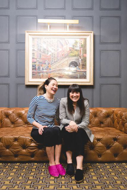 Founder Ce Ce Chin with Unique Market's Sonja Rasula