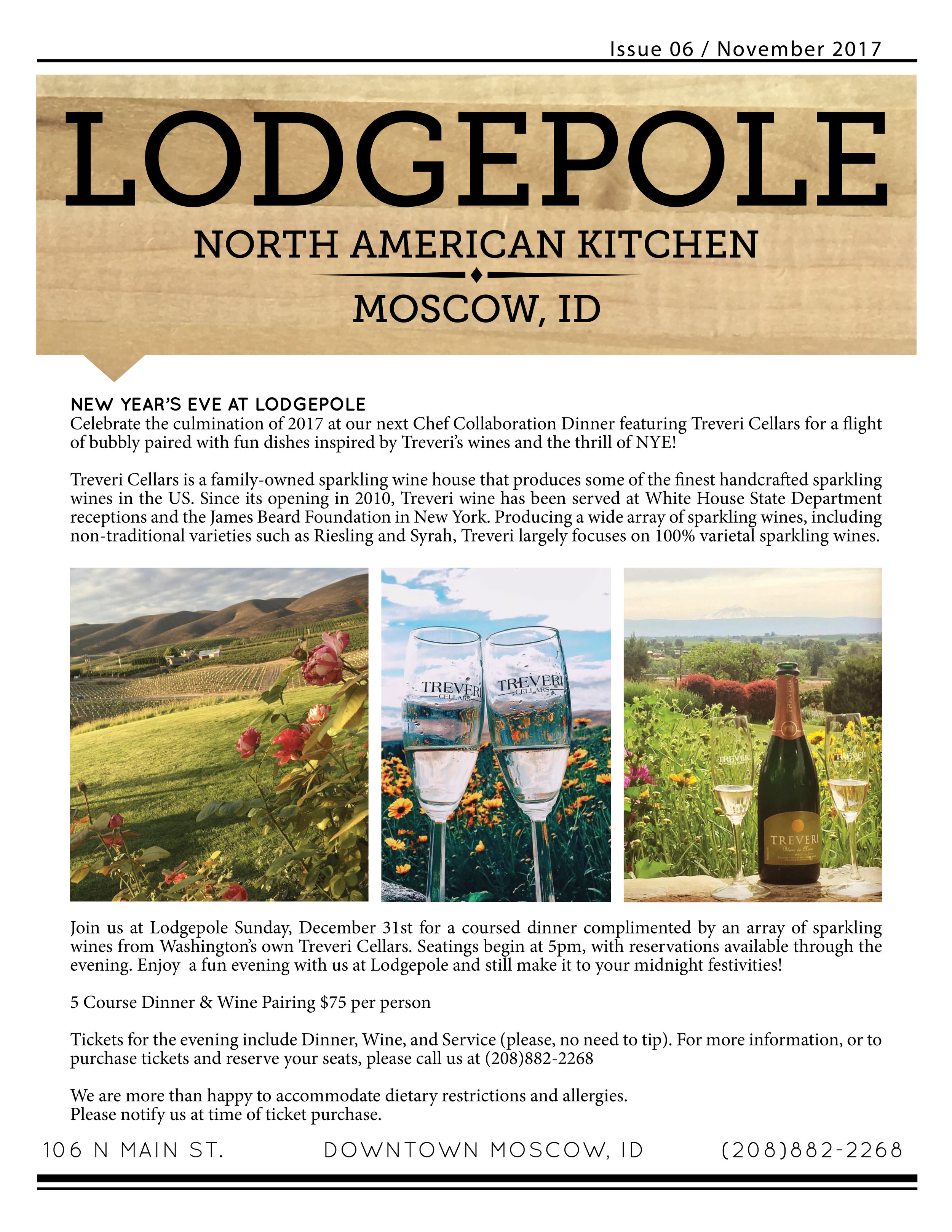 New Year's Eve at Lodgepole