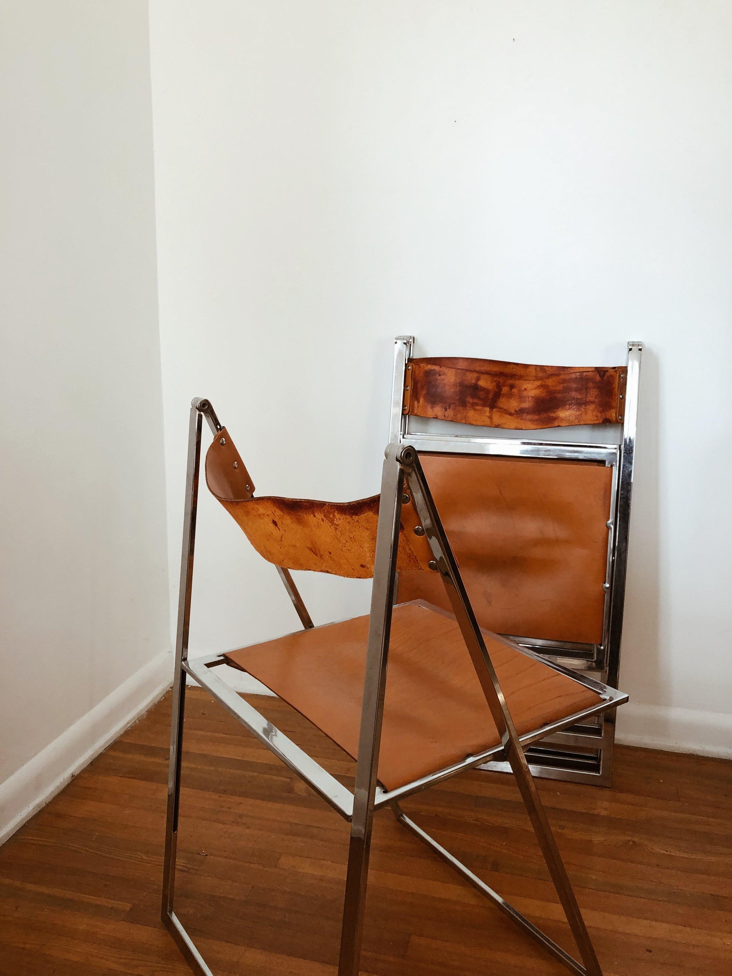 Folding Italian Chairs