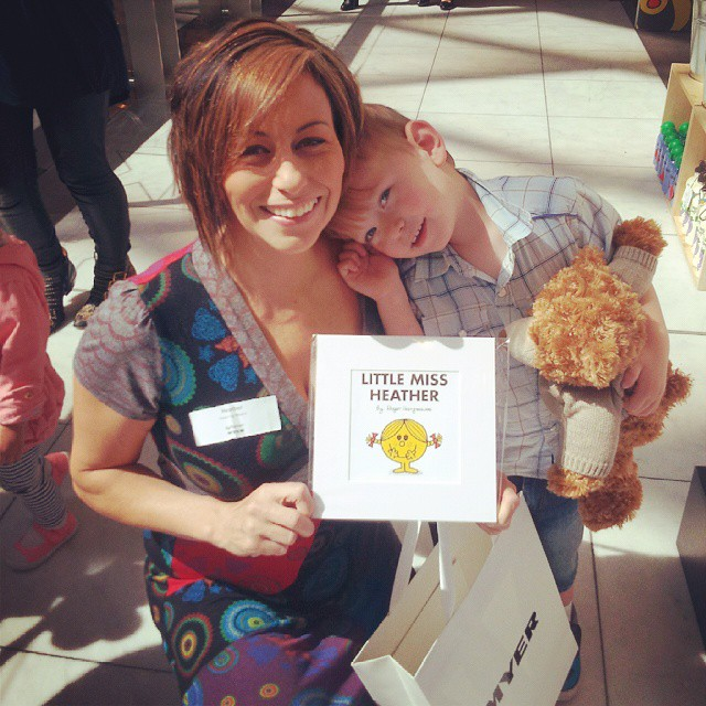 Little Miss Sunshine, Bam Bam & New Salvation Army Teddy Photo: instagram.com/inspiringmums