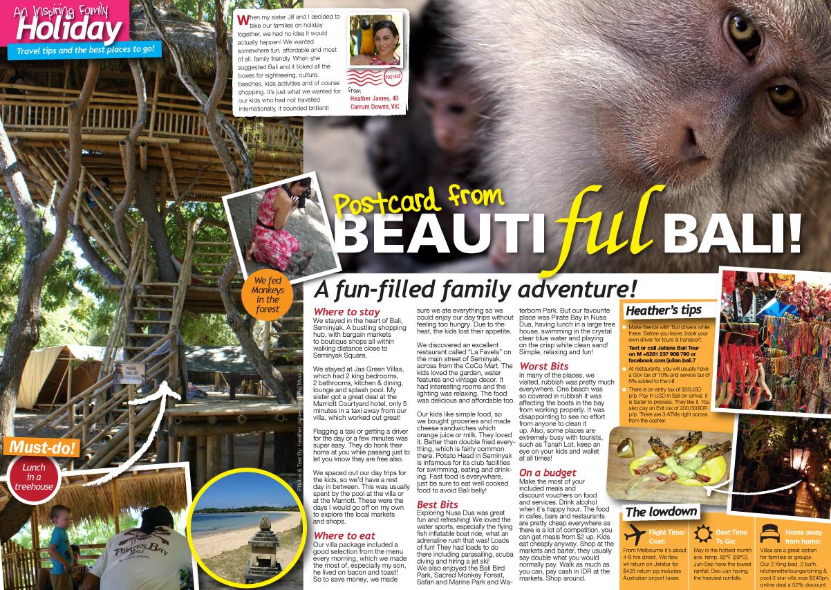 Click to enlarge - Photos & Text: Heather James, Motherhood & Lifestyle Blogger, Inspiring Mums  ®