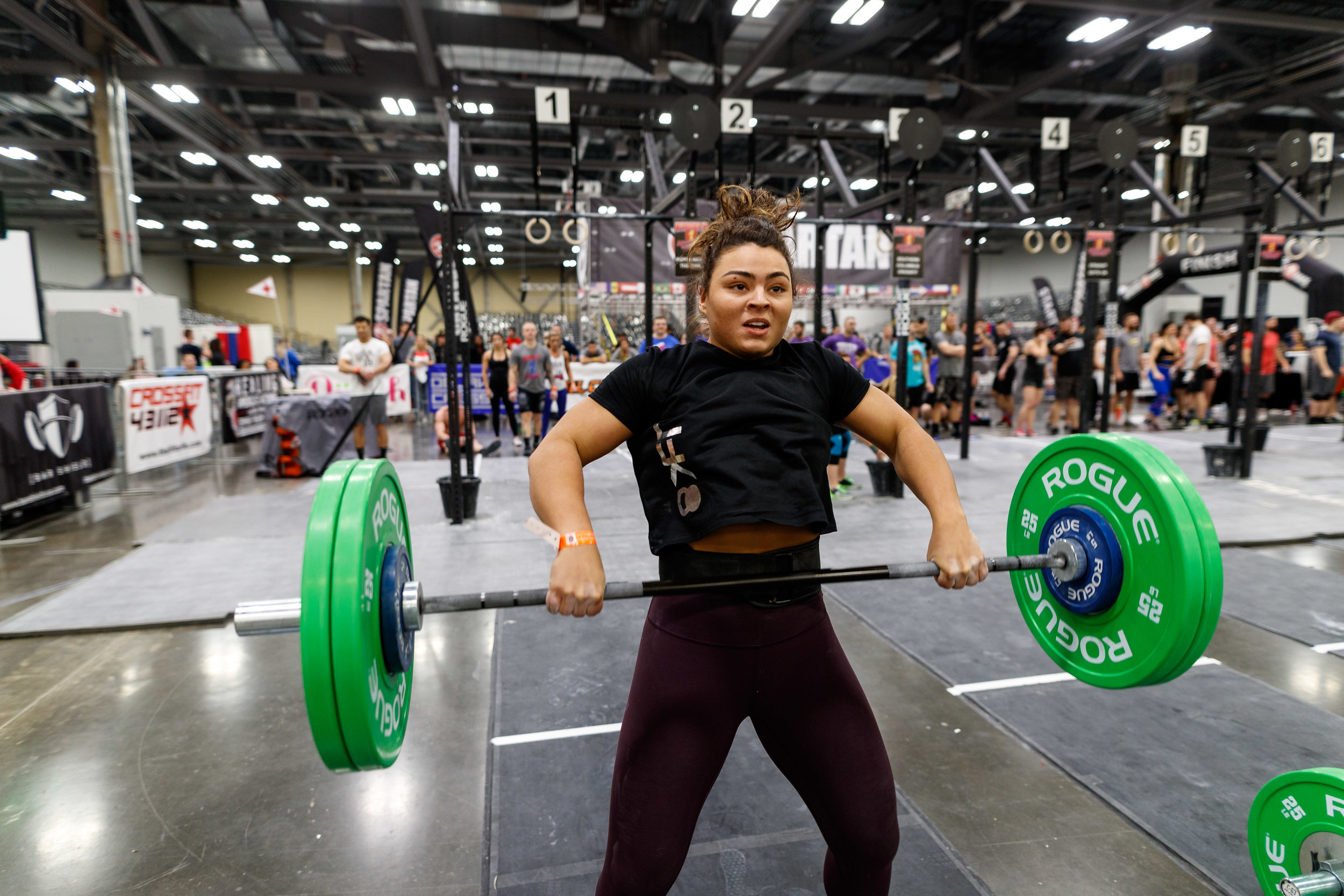 Emily Nussbaum - finishing 155th in the Central East Region a huge improvement from 388th last year. Accomplishing advanced gymnastics like bar muscle ups, ring muscle ups, chest to bar pull-ups and showcasing her strength on the barbell with an impressive 222lb Clean in 18.2a!