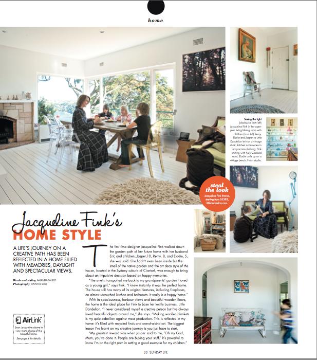 Home Style Sunday Life Magazine