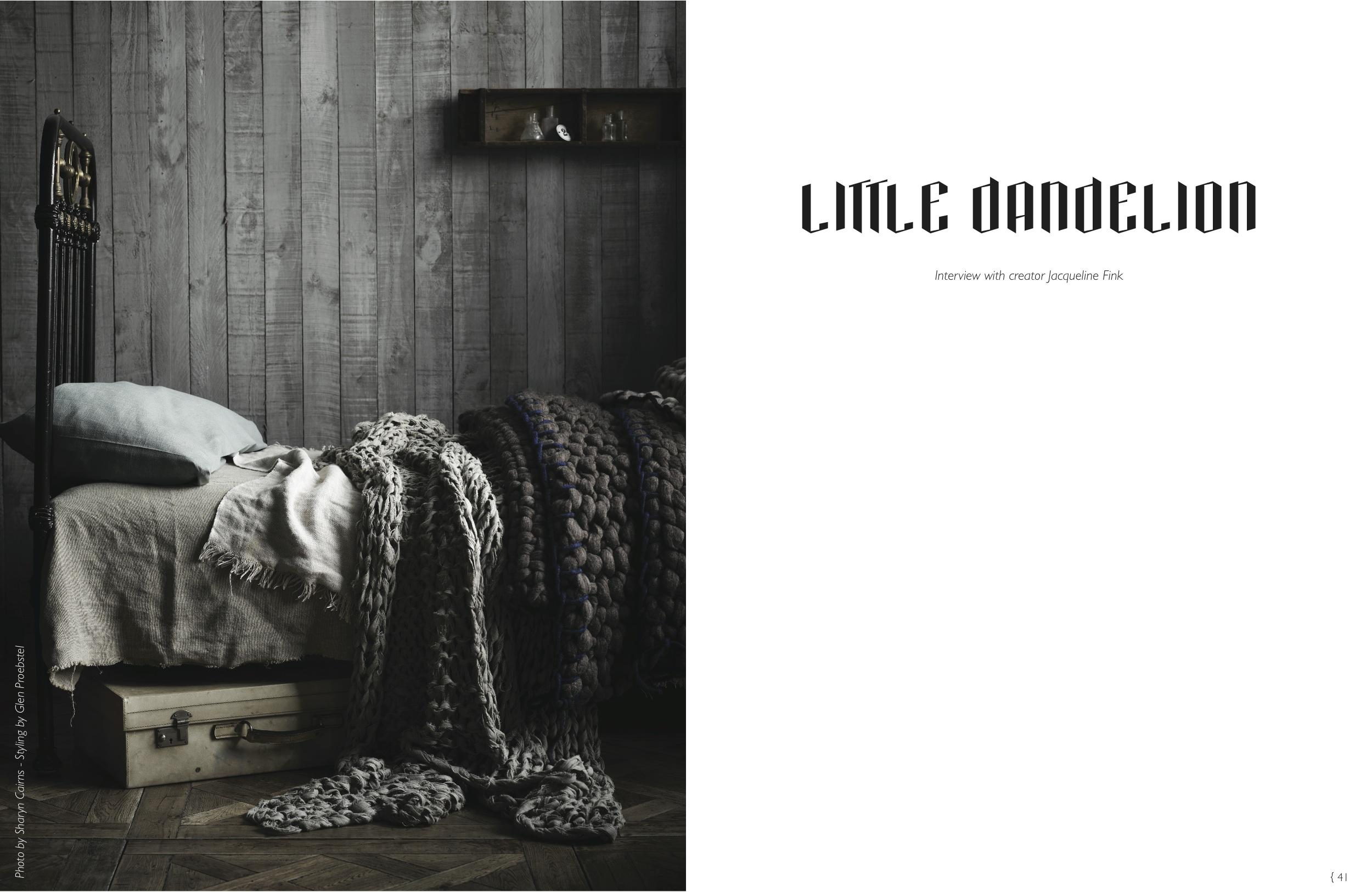 Little Dandelion Spread page 1