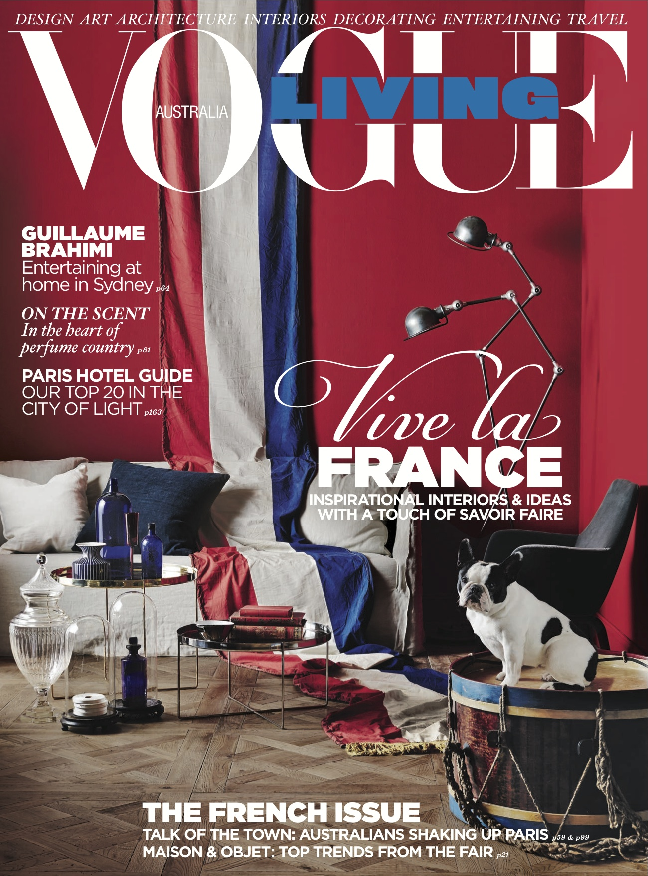 Vogue Living Magazine cover for June 2013
