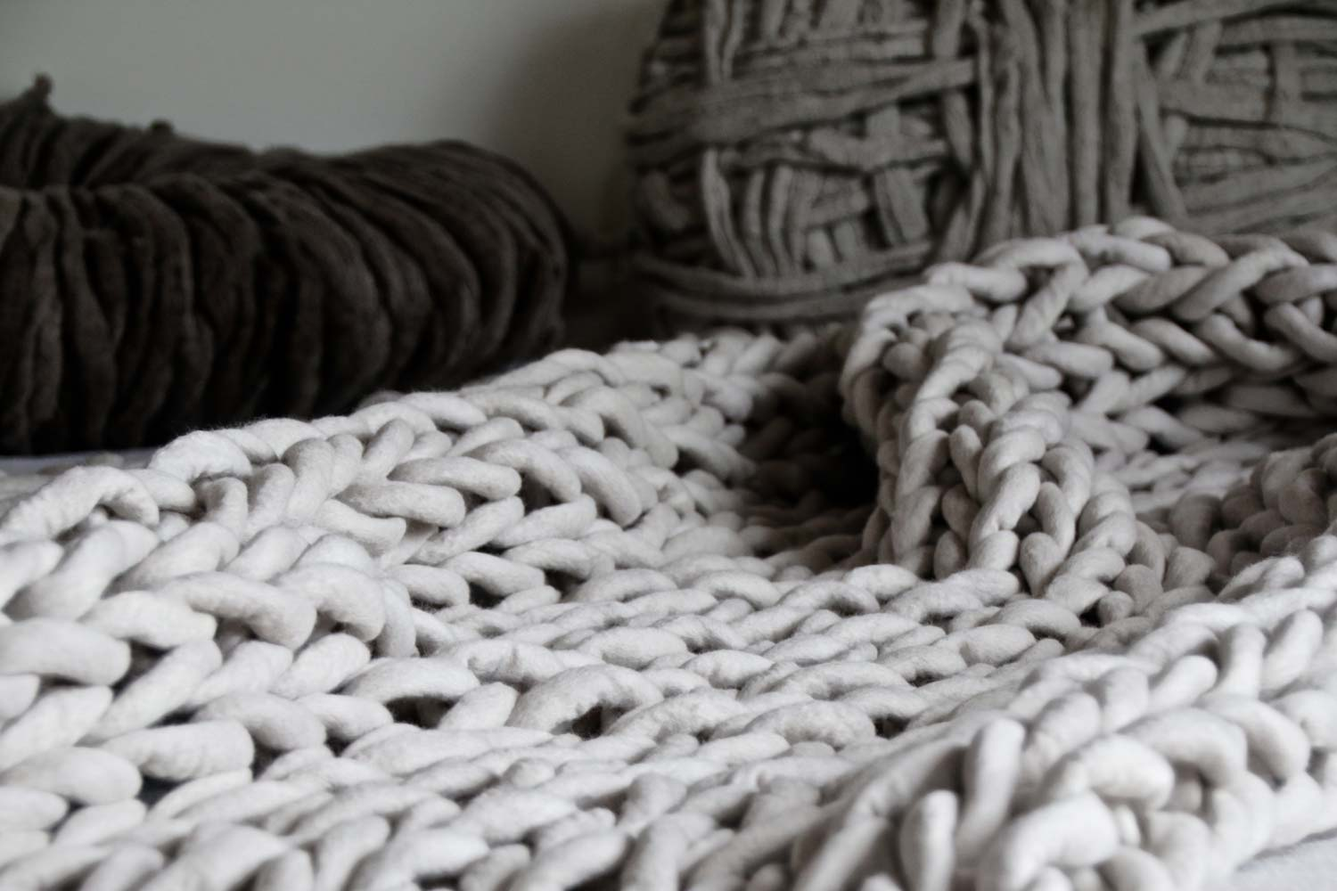 Ready to knit big?   beautiful supplies    available in our shop