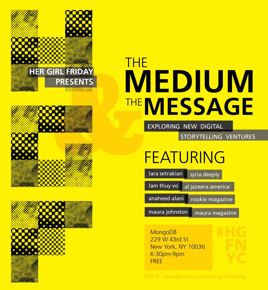 The medium and the message