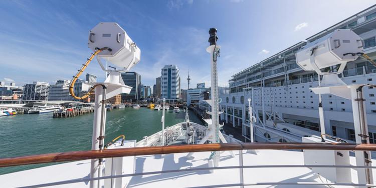 Auckland Docks - Deck 6 Forward