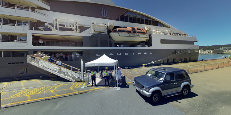 Docked at Wellington